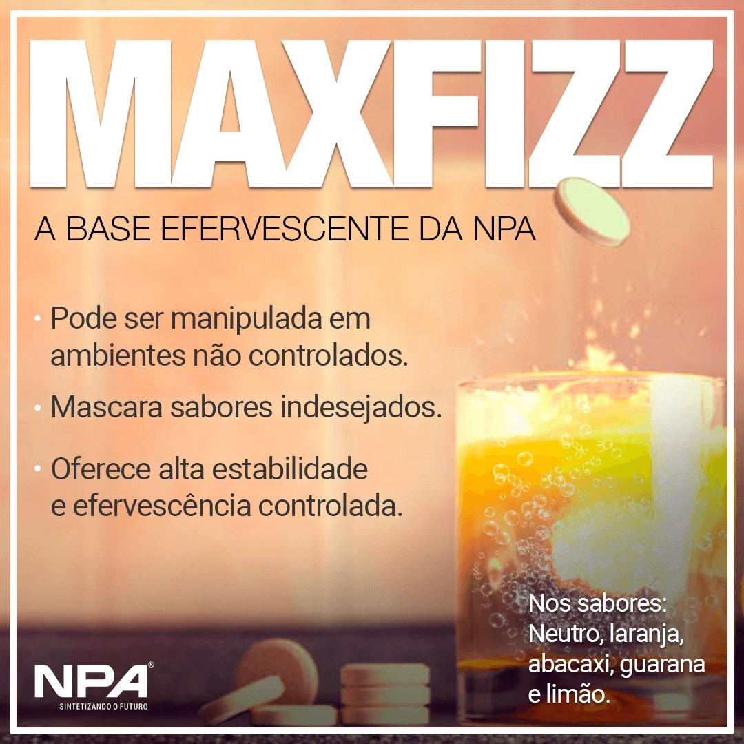 Maxfizz - um novo conceito de base efervescente