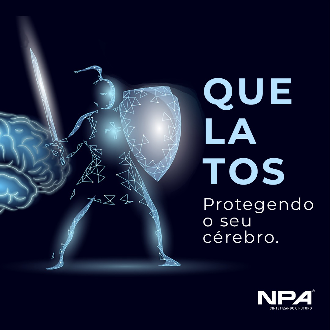 Proteja sua mente com minerais quelatos.
