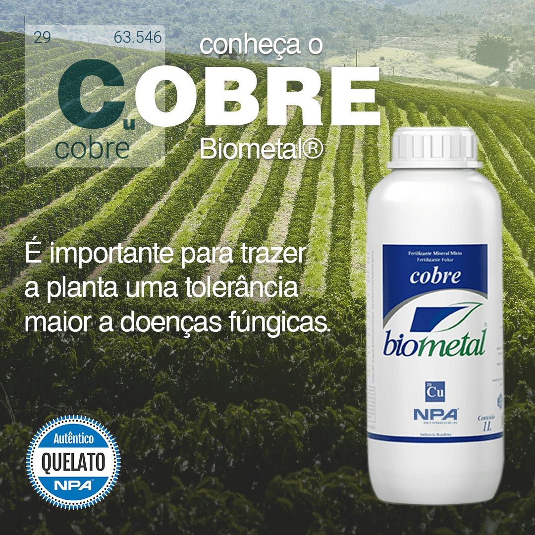 Cobre Biometal - um grande aliado para a sanidade da lavoura