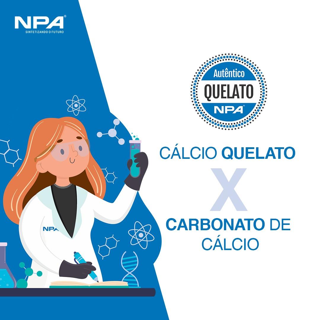 A diferença entre o Cálcio Quelato e o Carbonato de Cálcio